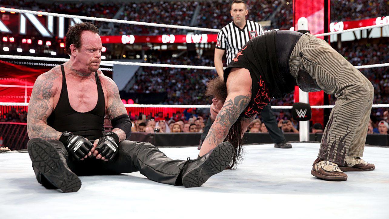 Il en faut plus que ça pour impressionner l'Undertaker !