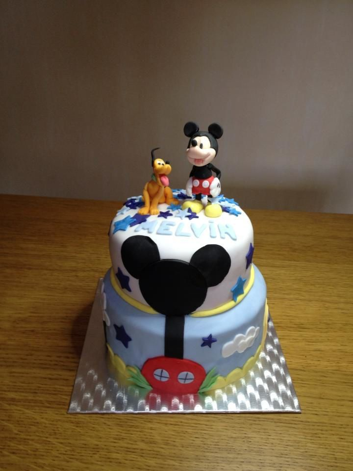 G cake joe mickey mouse - Gateau mickey facile ...