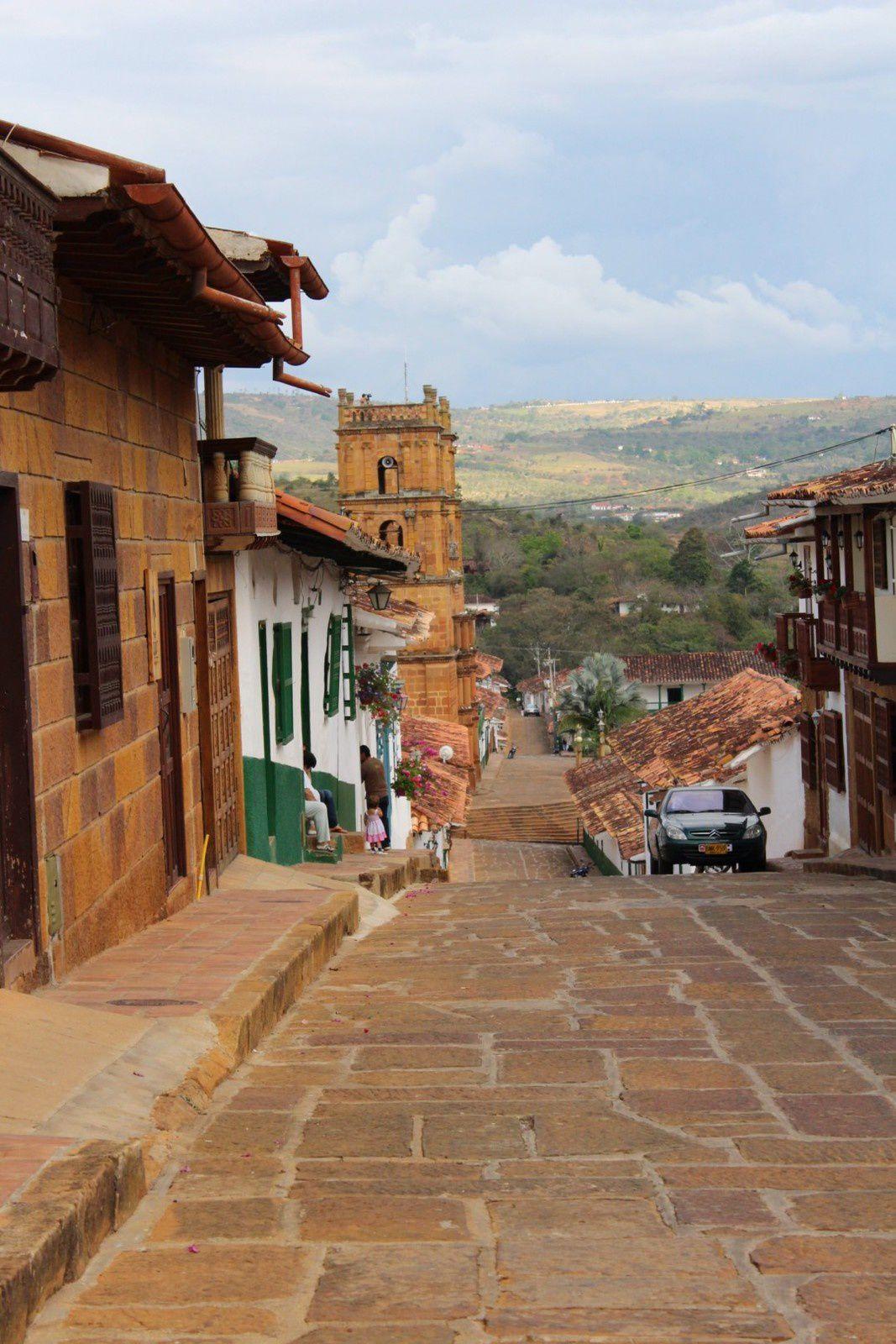Colombie, Barichara...