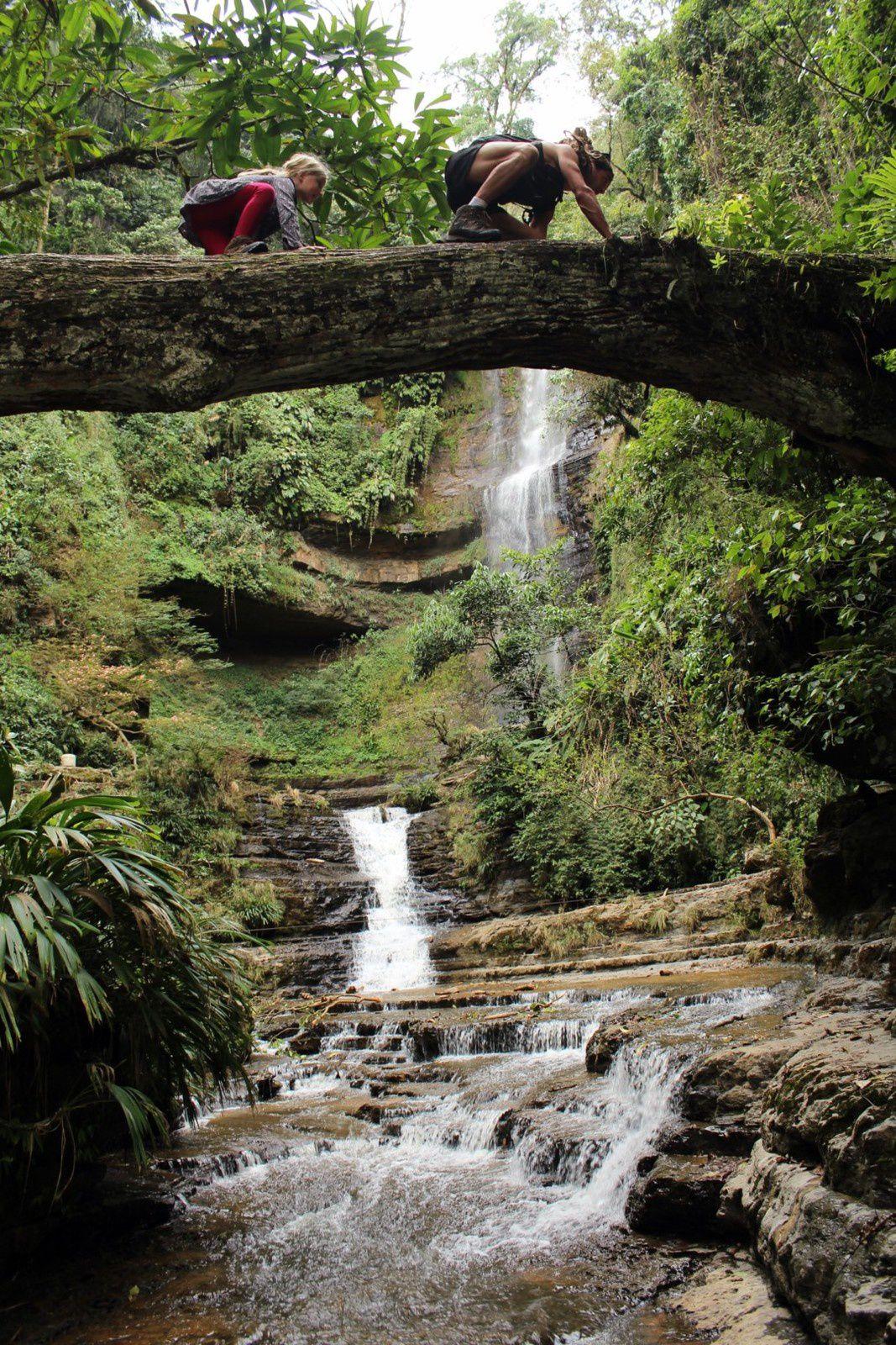 Colombie, Paramo la cuevas del Indio et les 3 cascades...