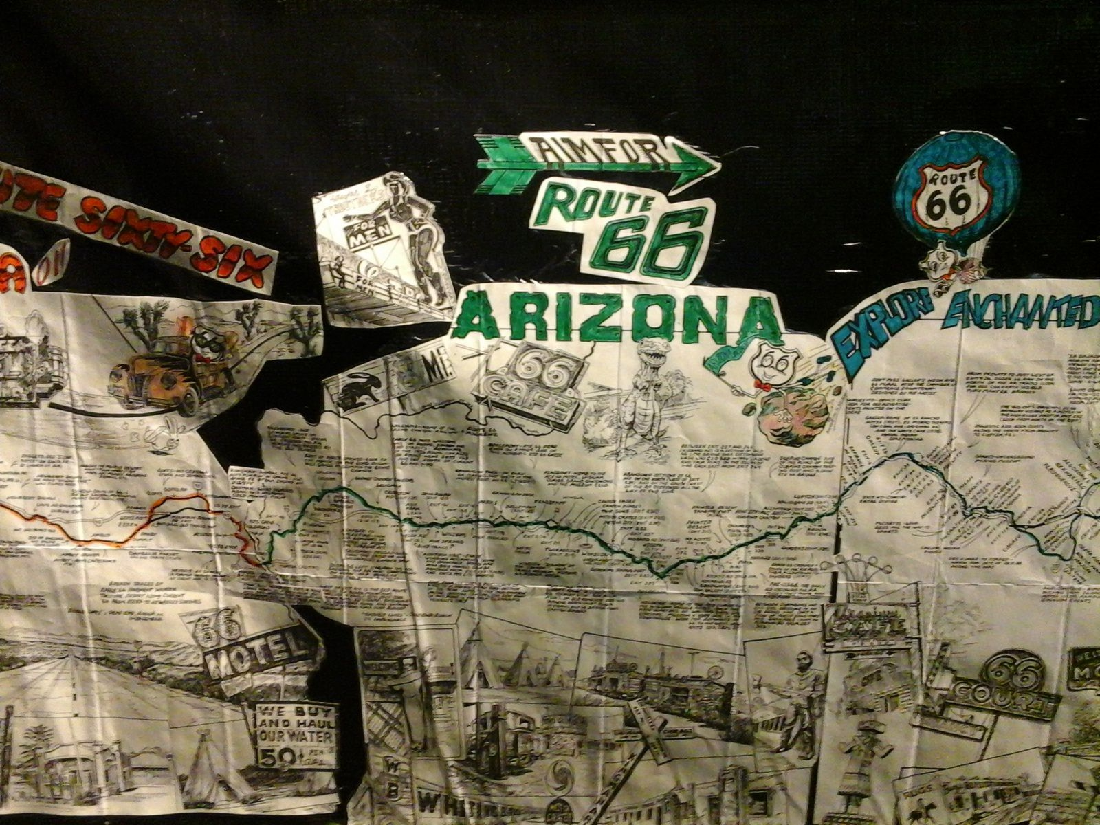 Day 4 : Get your kicks on route 66....