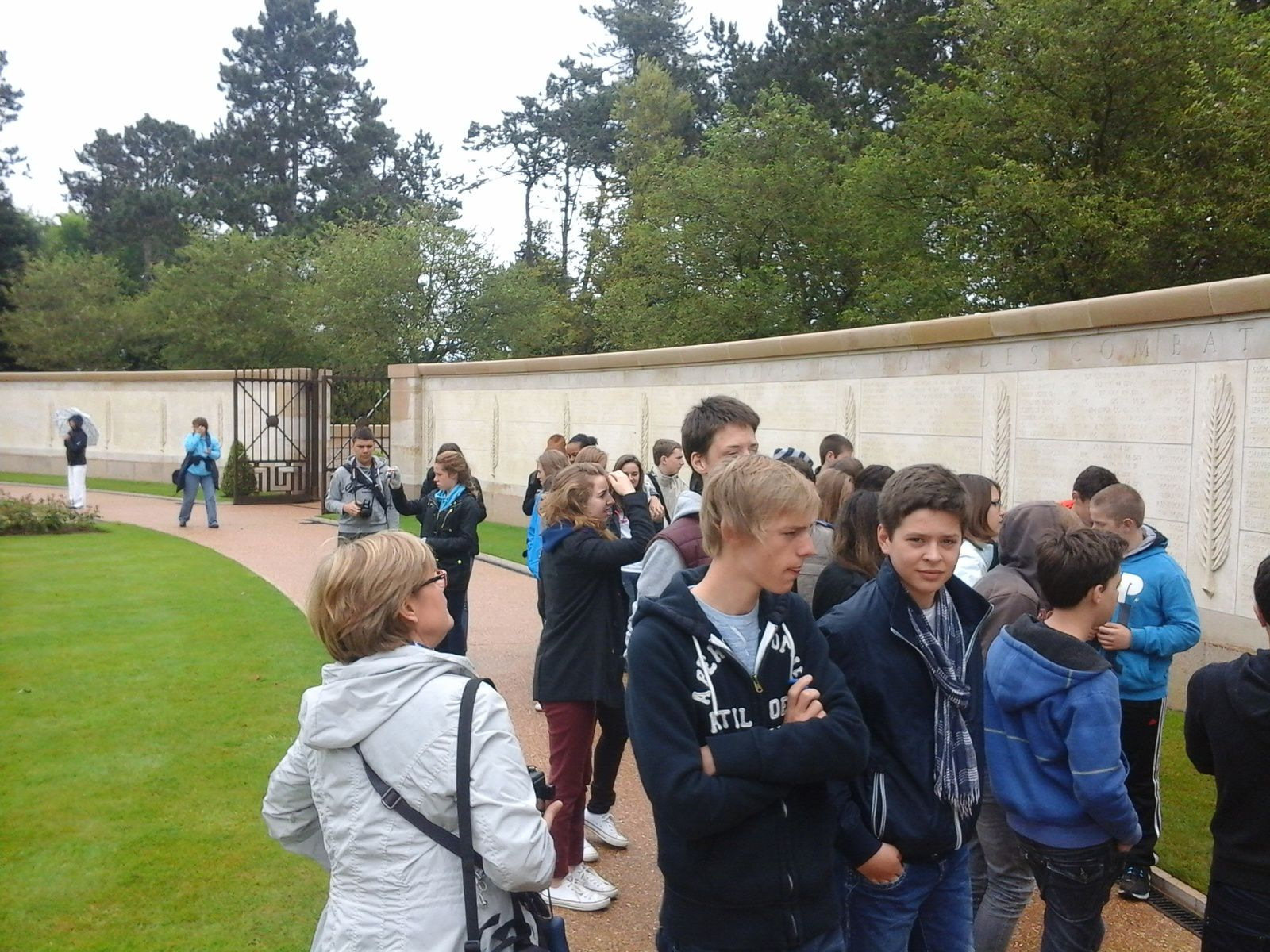 Trip to Normandy - Step 3 : The American cemetery