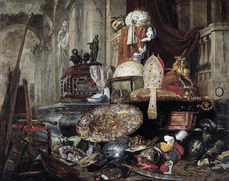 Pieter Boel  Allégorie des-vanités du monde 1663   Musée des Beaux Arts de LiIle