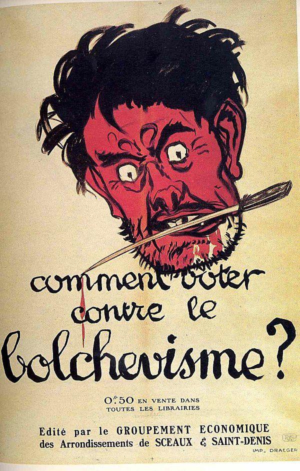 Adrien BARRIÈRE (1877-1931) Comment voter contre le bolchevisme ? 1919