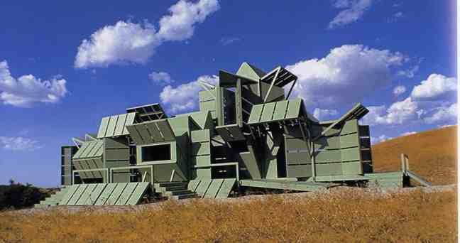 M-House, Gorman, California, by Michael Jantzen, 2000