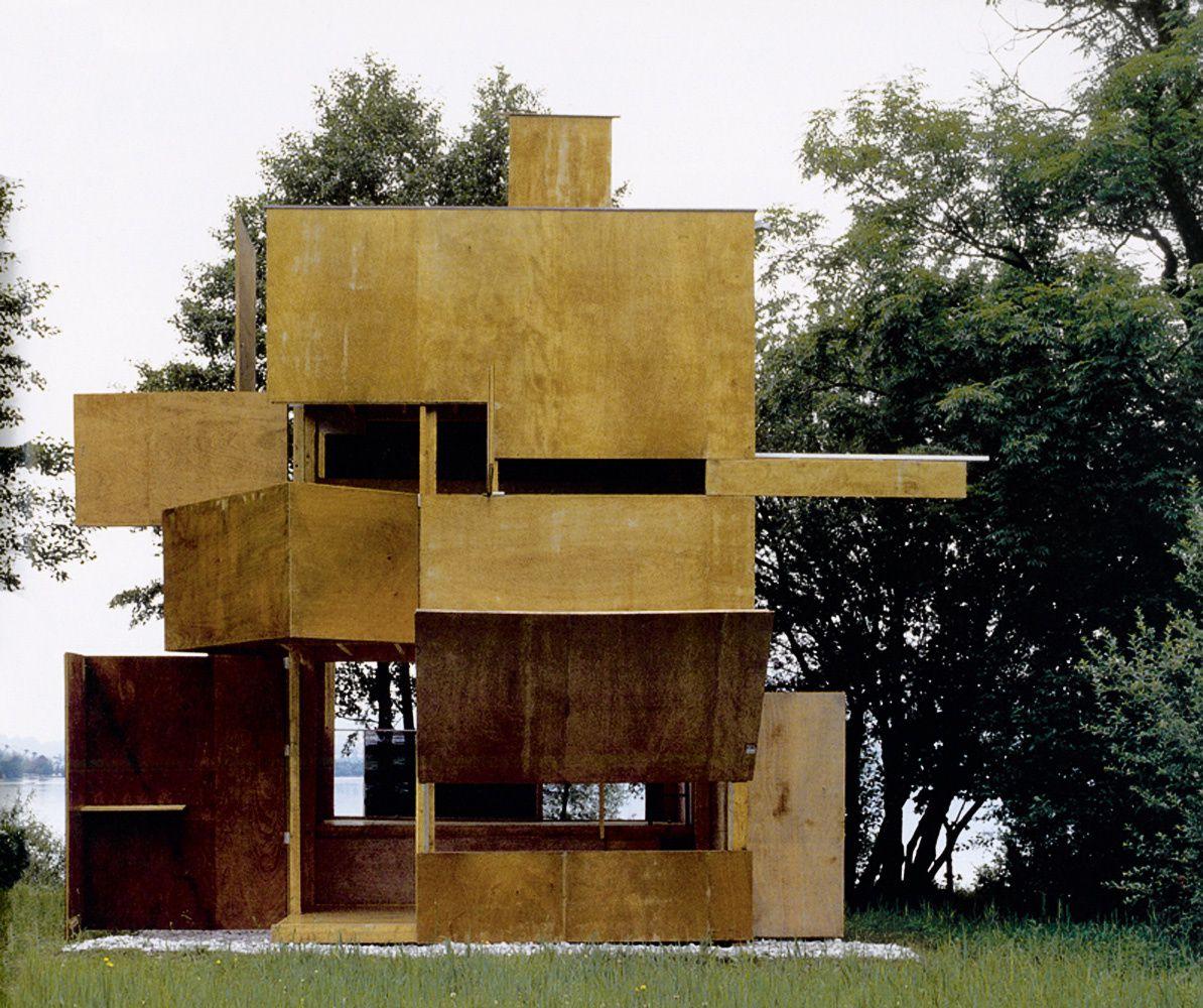 Hans Peter Wörndl : Architecture transformable a volonté ... le Gucklhupf