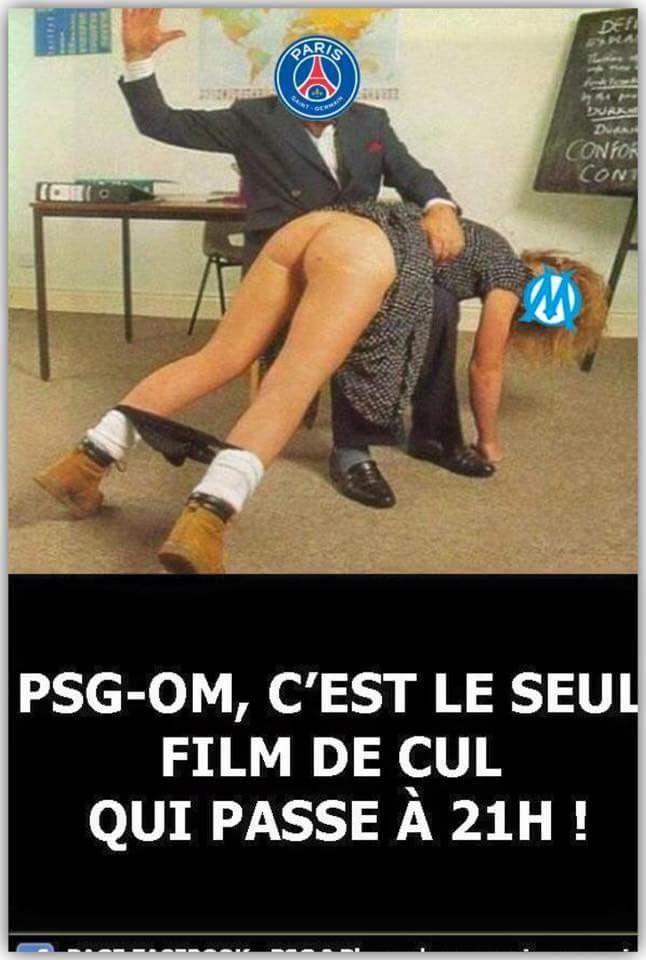 PSG - OM : le seul film de cul qui passe à 21h.