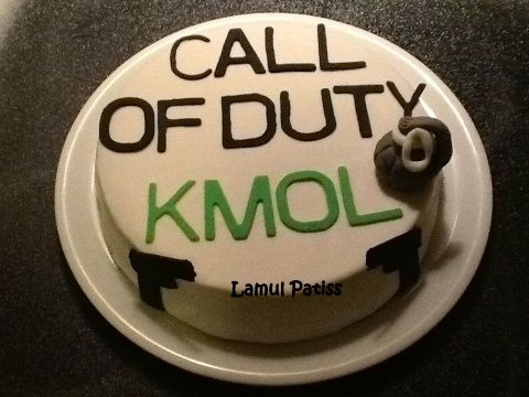 Gâteau au chocolat ( Call of Duty )
