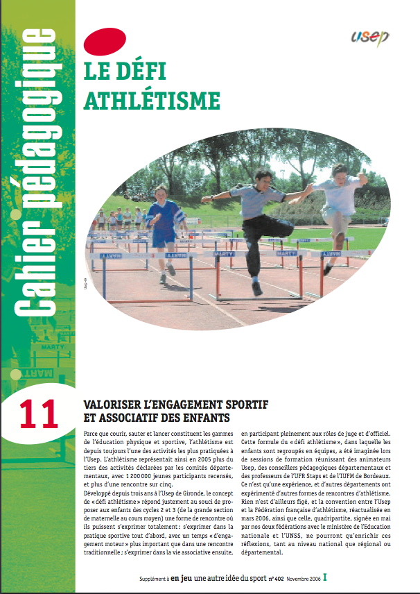 Rencontre usep athletisme cycle 2