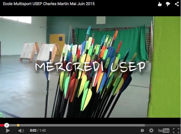 Ecole Multisports USEP (mercredis)  inscription en ligne période Mai/Juin + Nouveau CLIP VIDEO (mars/avril)
