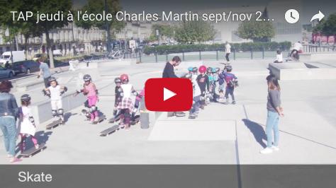 Clip vidéo TAP (Fév. Mars Avril 2017 ) dans les écoles Charles Martin et Achard