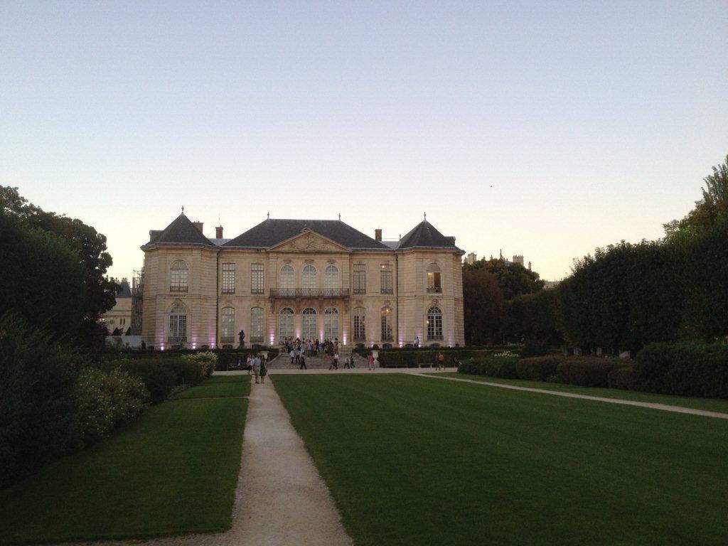 Lecture chez Rodin
