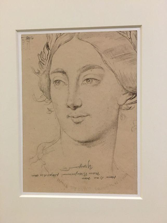 Marie Bracquemont, Tête de muse 1878
