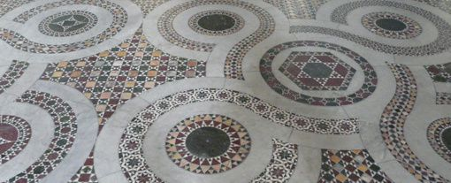 The floor mosaic of Anagni