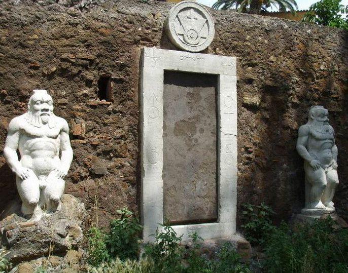 Porta Magica à Rome   Passage vers un autre lieu...   Les gardiens des portes : Amélie