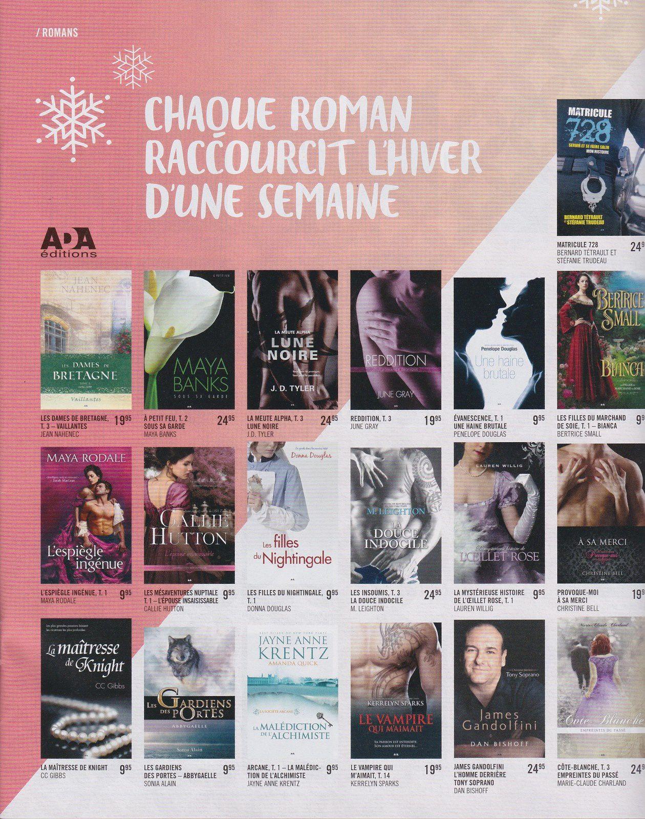 """Le tome 1 de ma série """"Les gardiens des portes"""" se retrouve dans la circulaire de Noël de Renaud-Bray 2015"""