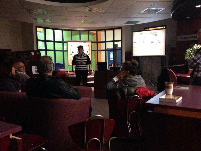 """Conférence """"Rome à l'Époque romaine"""" - Bibliothèque municipale-scolaire à Chandler - Le 22 octobre 2015"""