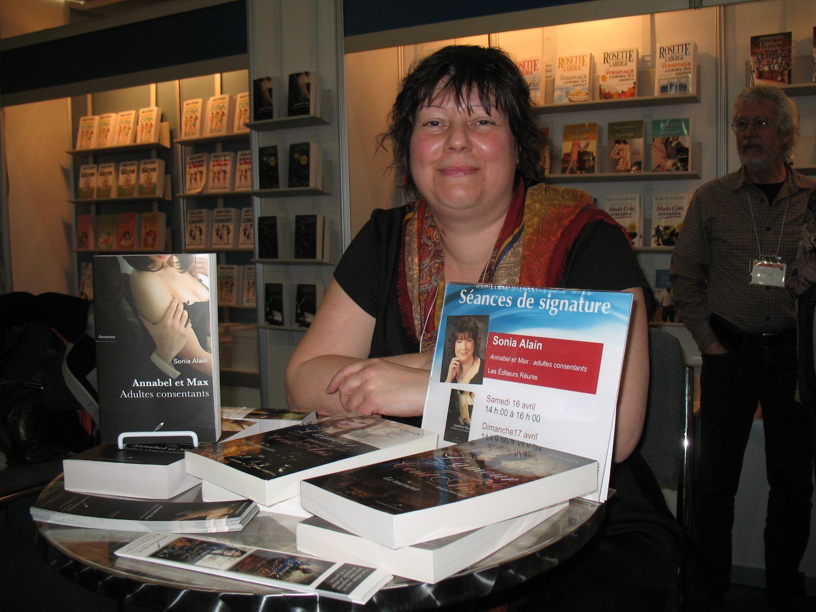 Salon du livre de Québec - kiosque Les Éditeurs Réunis | Le 16 avril 2016