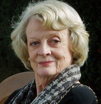 La vieille Berthe - la gouvernante du château de Knox telle que je me la représentais (Maggie Smith)
