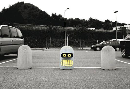 Du Street art discret qui égaye la journée