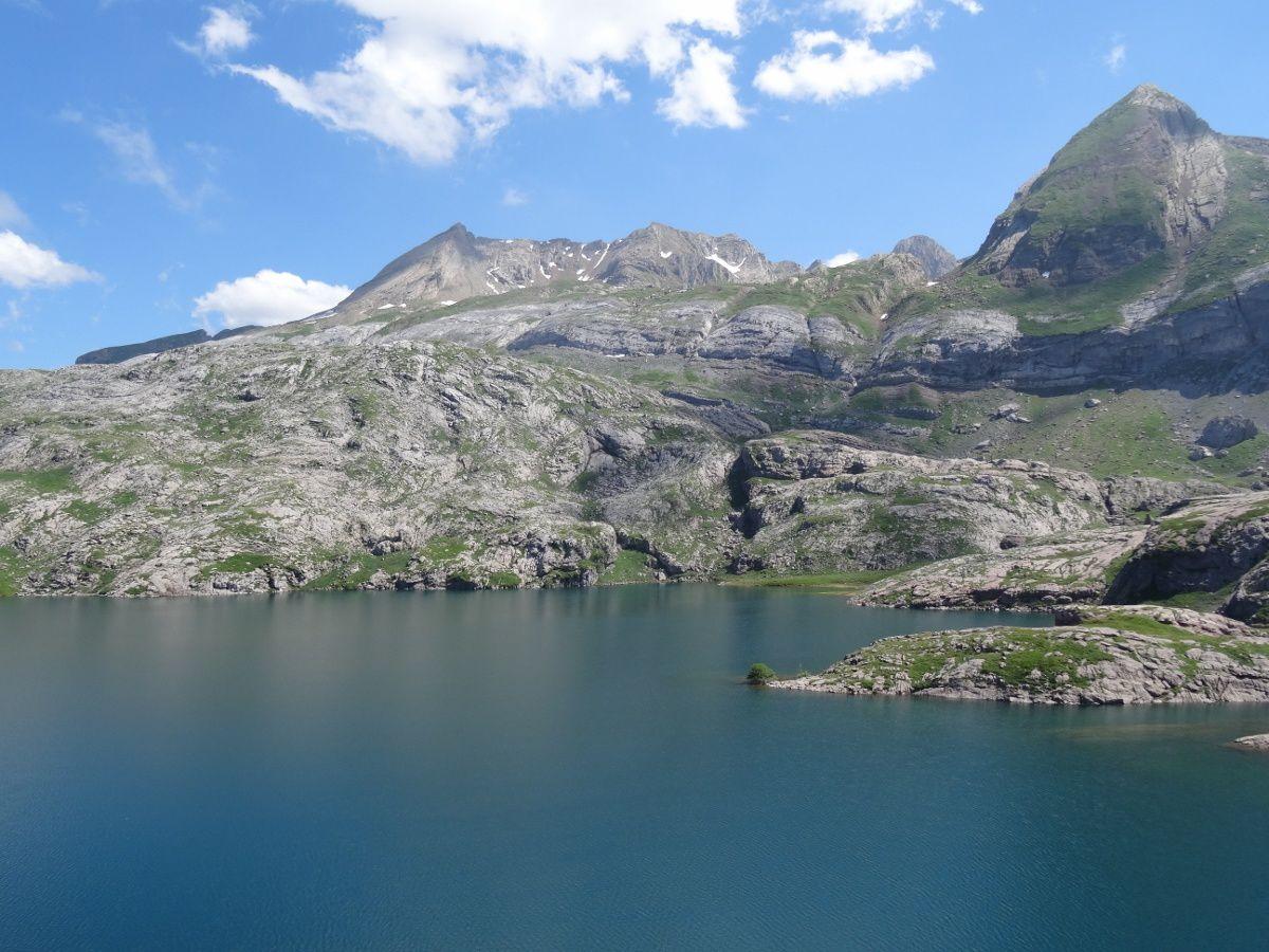 Bivouac au lac d'Estaens