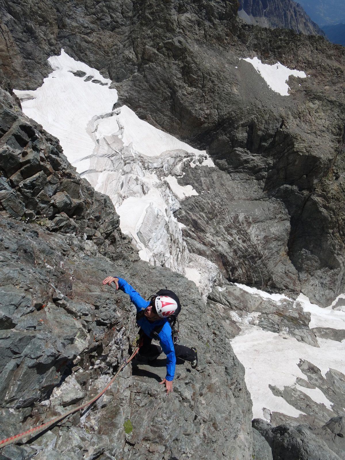 Contreforts des Bans (Pointe 3400 m)