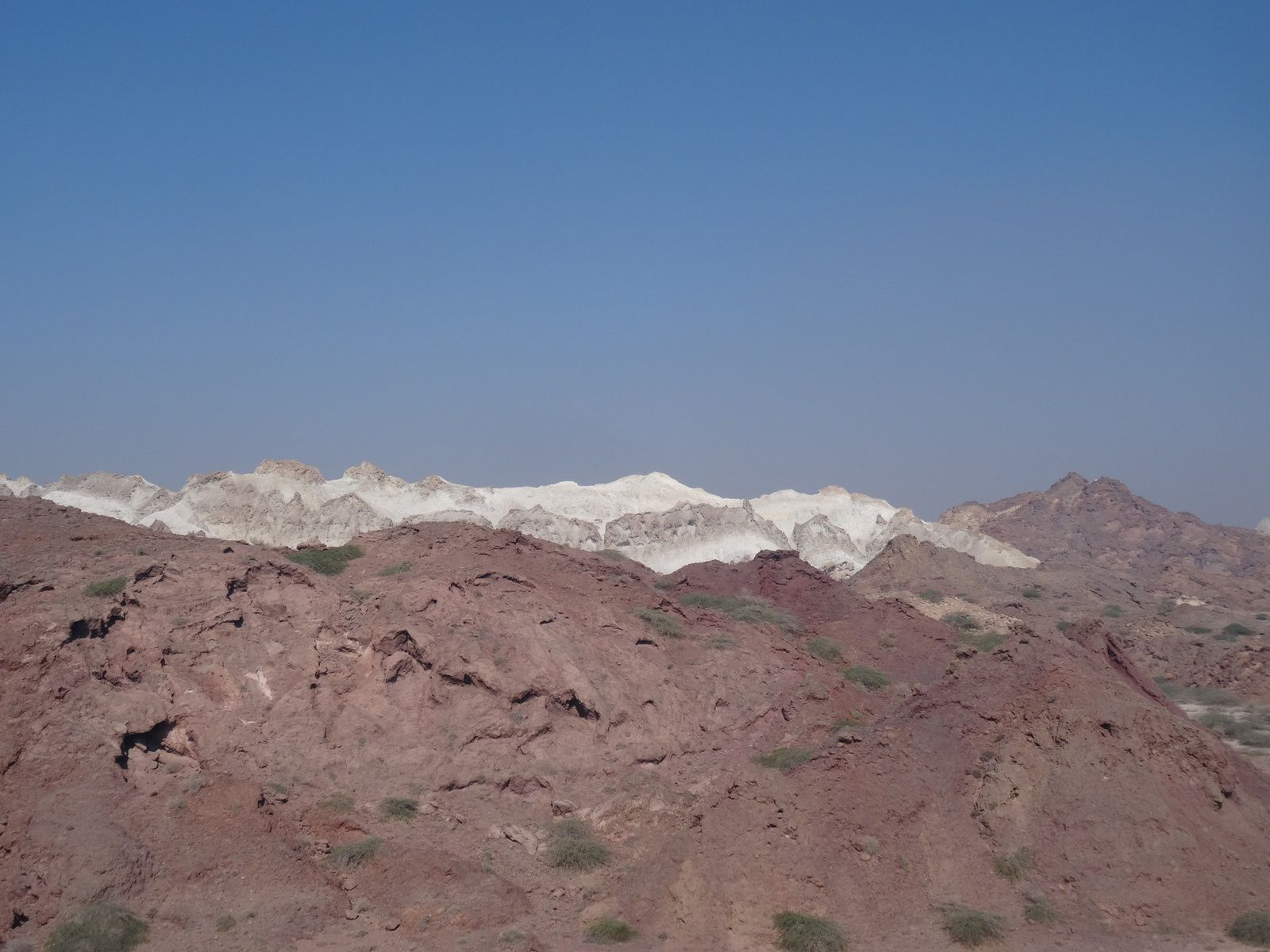 Glaciers de sables d'Ormuz