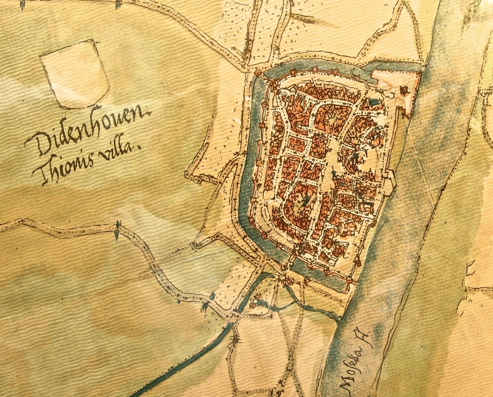 1673 à 1846  -  Les ponts de Thionville (1ère partie)