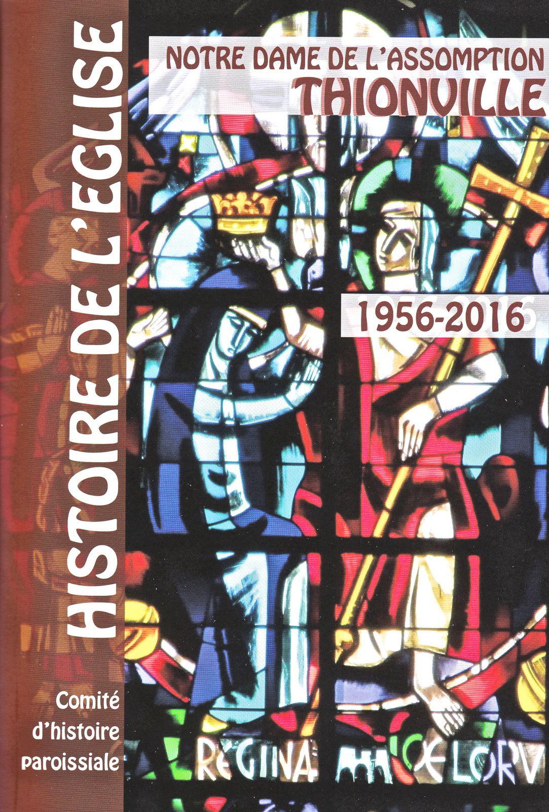 La couverture du livret sur l'histoire de l'église Notre Dame