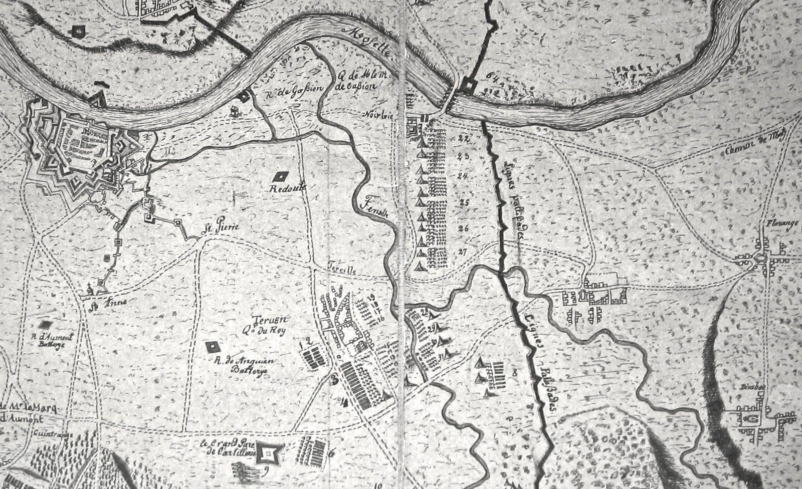 1674 - Le bail du moulin de Thionville (1ère partie)