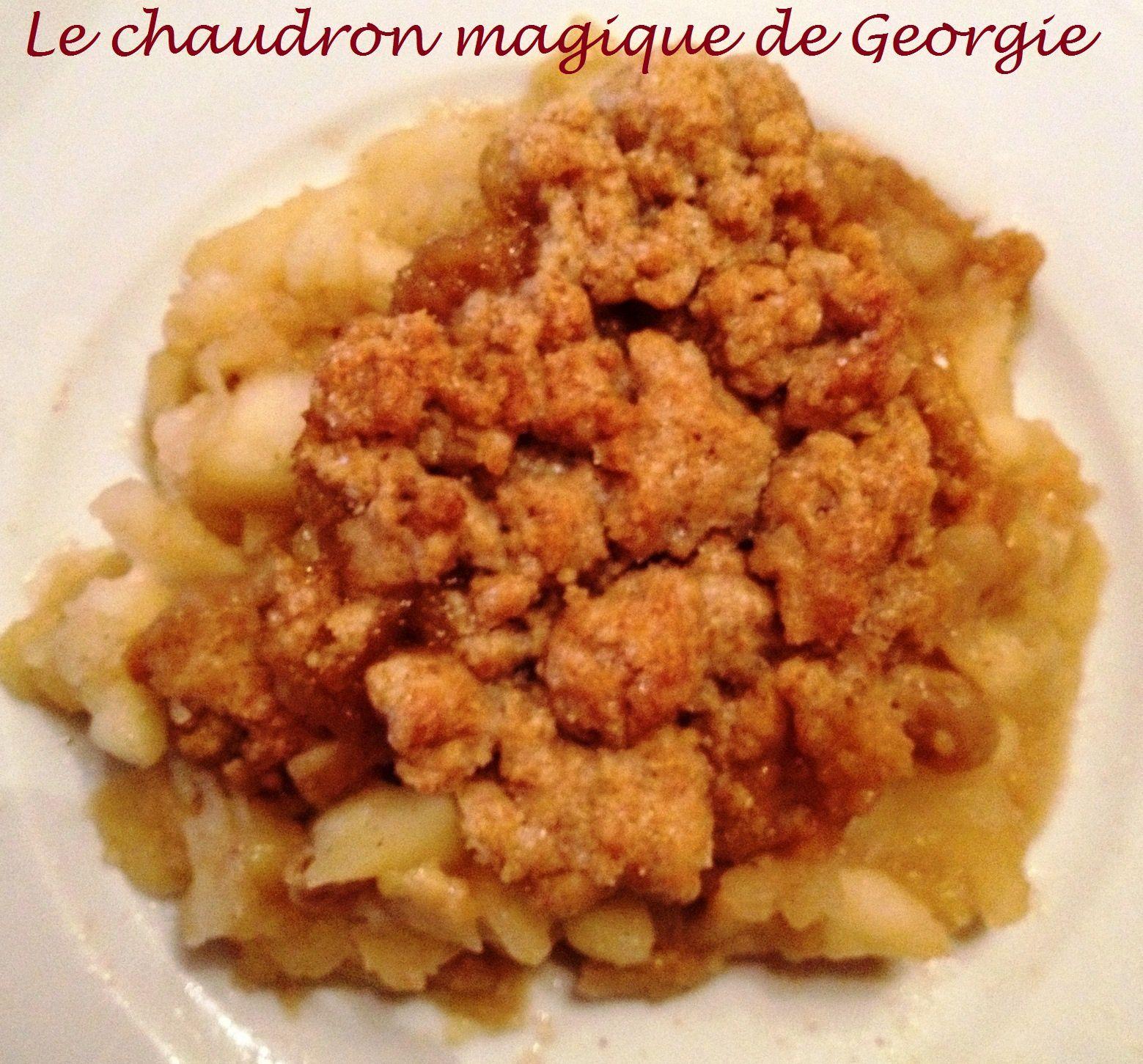 Crumble de pommes ww au thermomix le chaudron magique - Livre thermomix ma cuisine 100 facons pdf ...