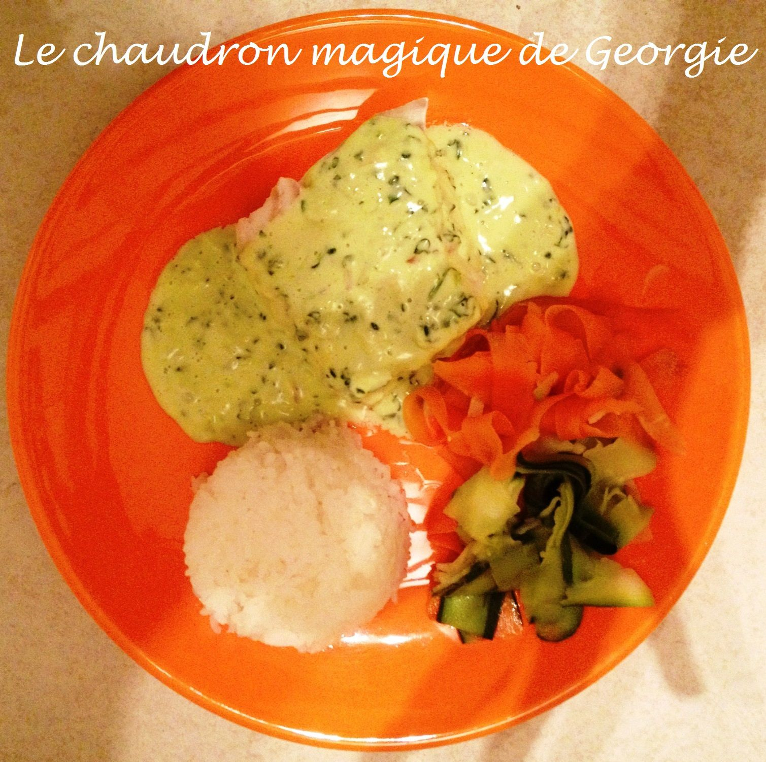 Cabillaud sauce Messine WW au Thermomix