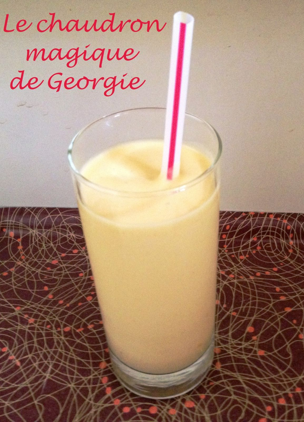 Smoothie Mangue Ananas Coco au Thermomix
