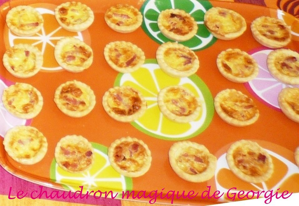 Mini quiches au Thermomix