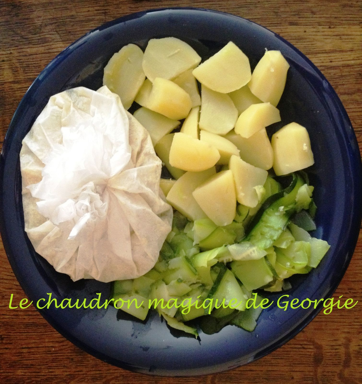 Filets de Flétan en papillotes sauce Moutarde WW au Thermomix