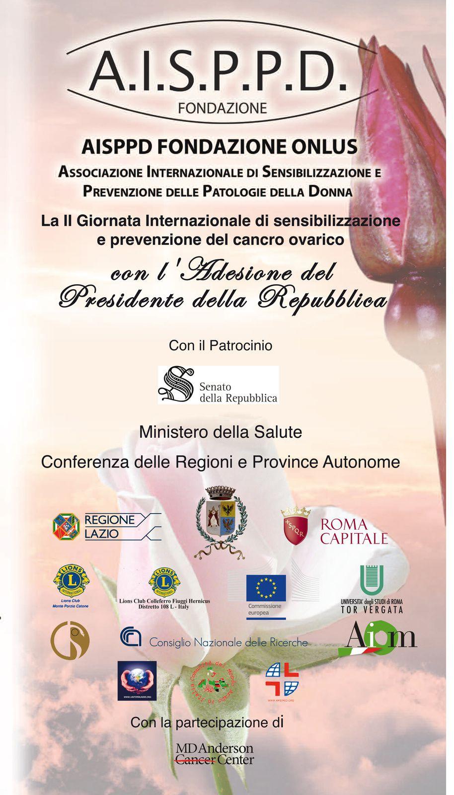 PRESIDENZA DELLA REPUBBLICA ITALIANA AL CONVEGNO AISPPD