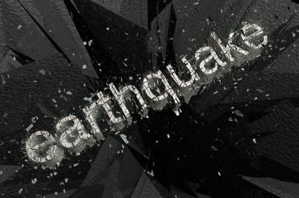Being prepared for an earthquake