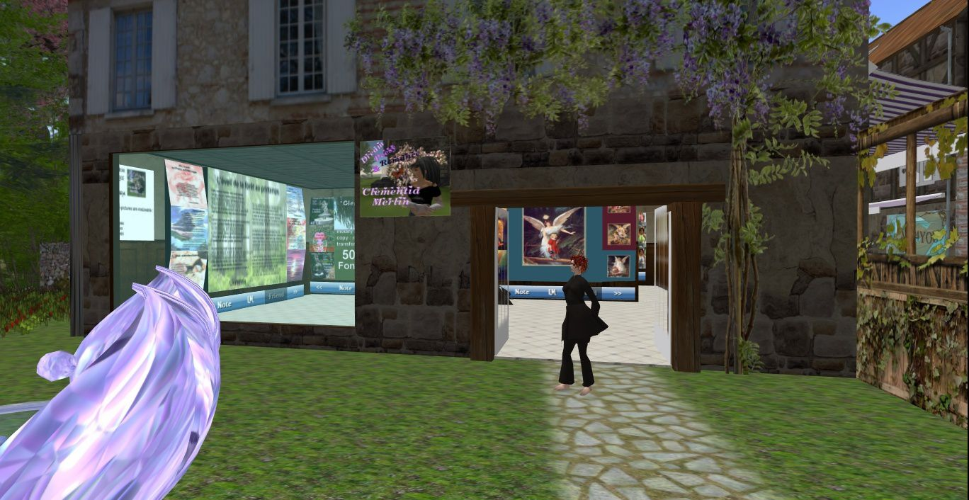 Clementia's new shop in SecondLife