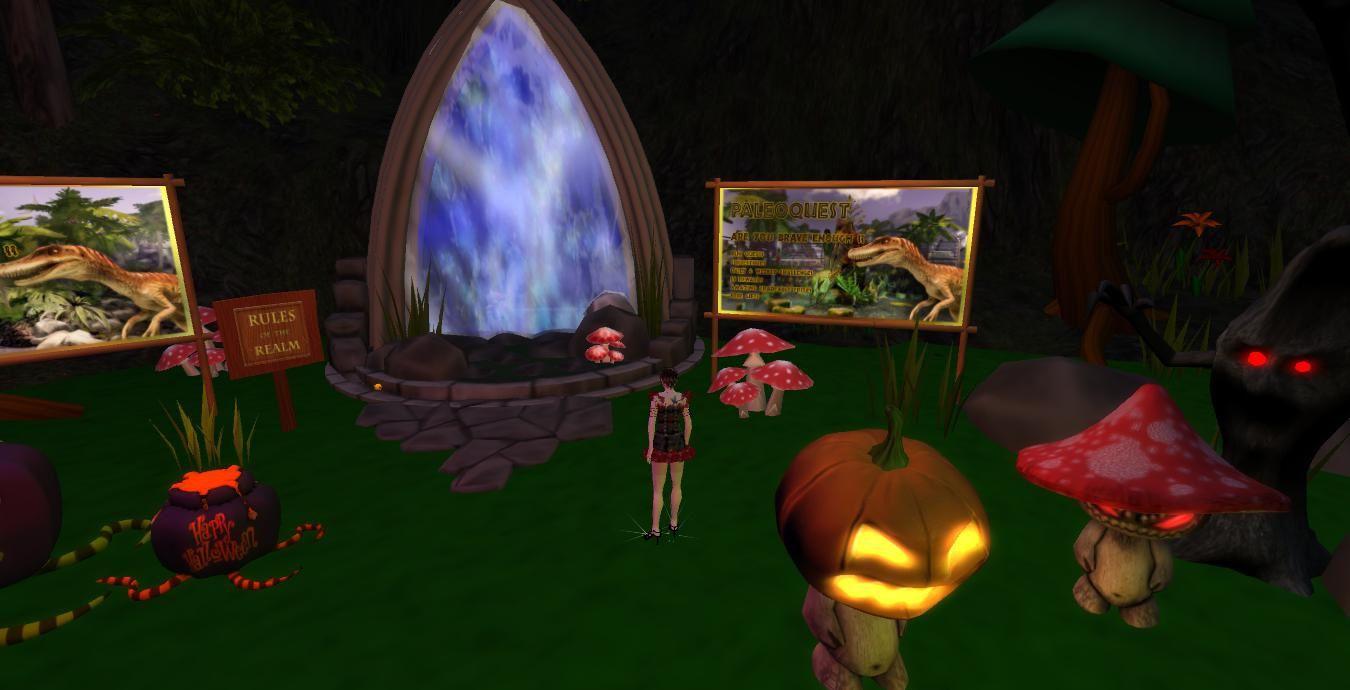 Halloween Tour : Quête dans le parc de Linden Realms