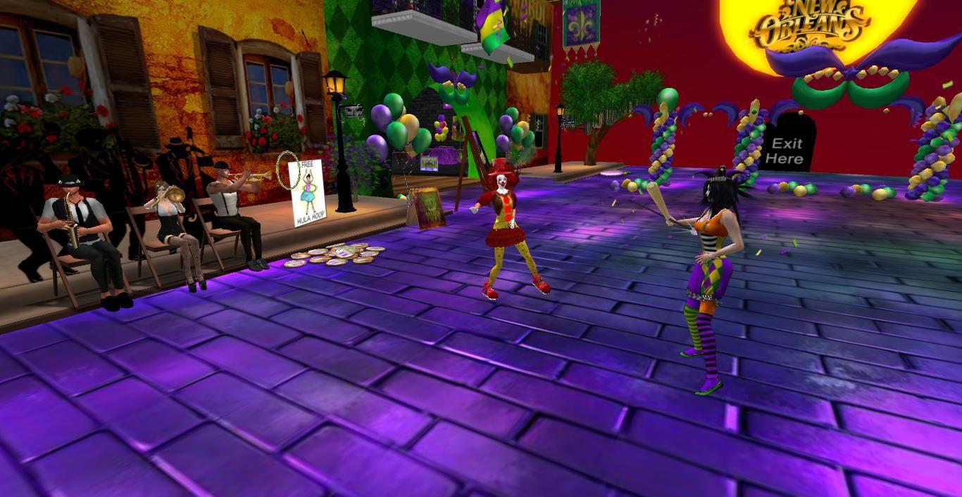 Je fête Mardi-Gras dans SecondLife (10)
