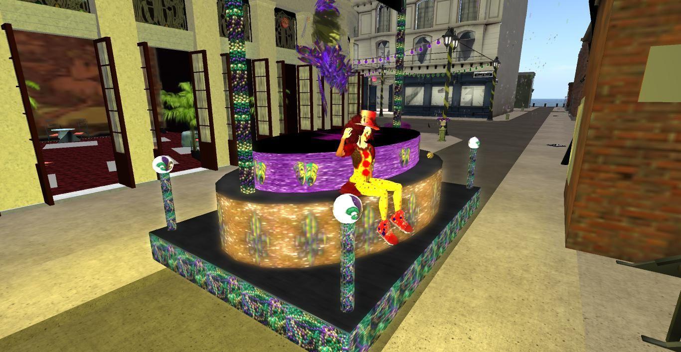 Je fête Mardi-Gras dans SecondLife (9)