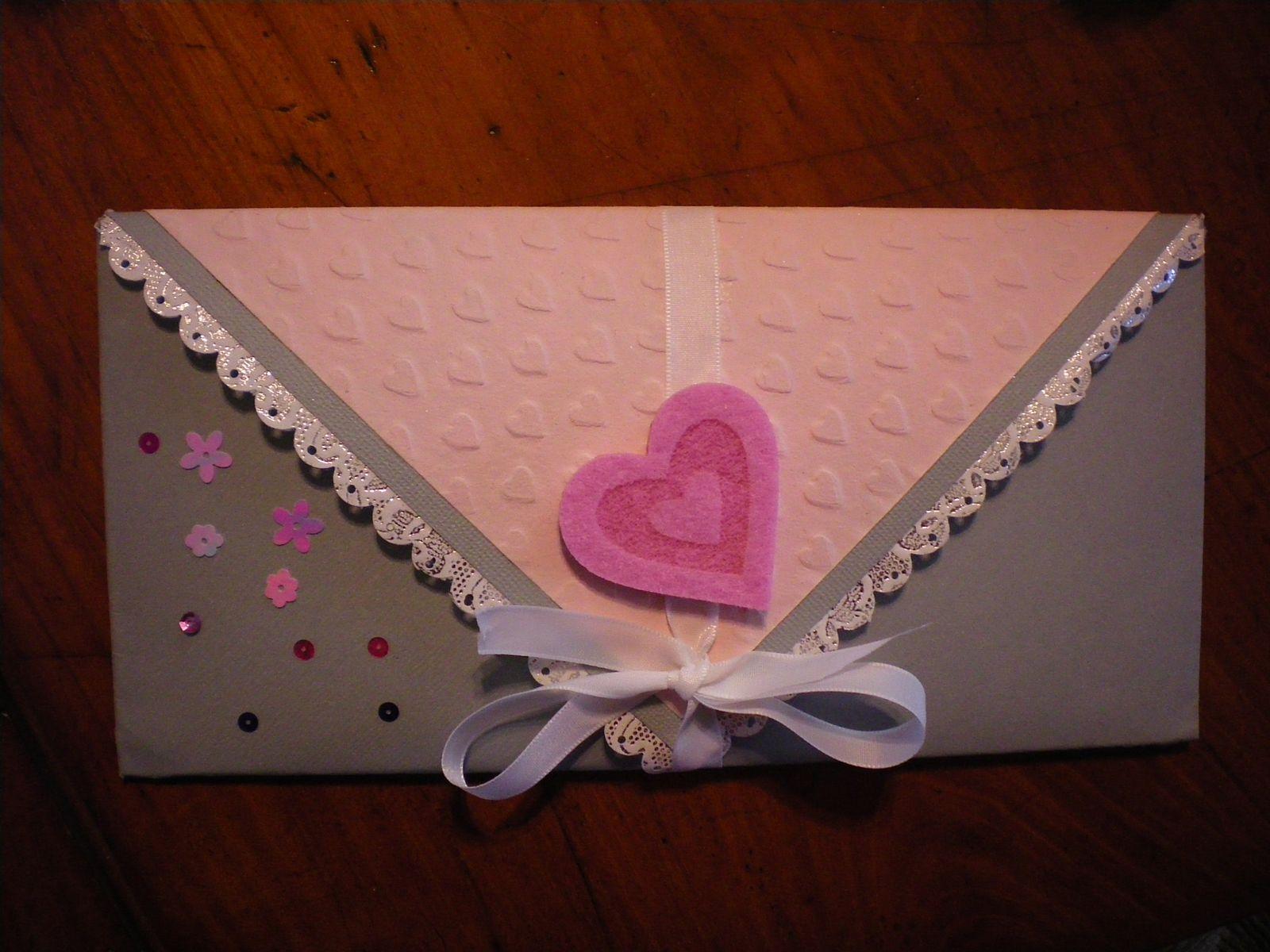 scrapbooking carte enveloppe