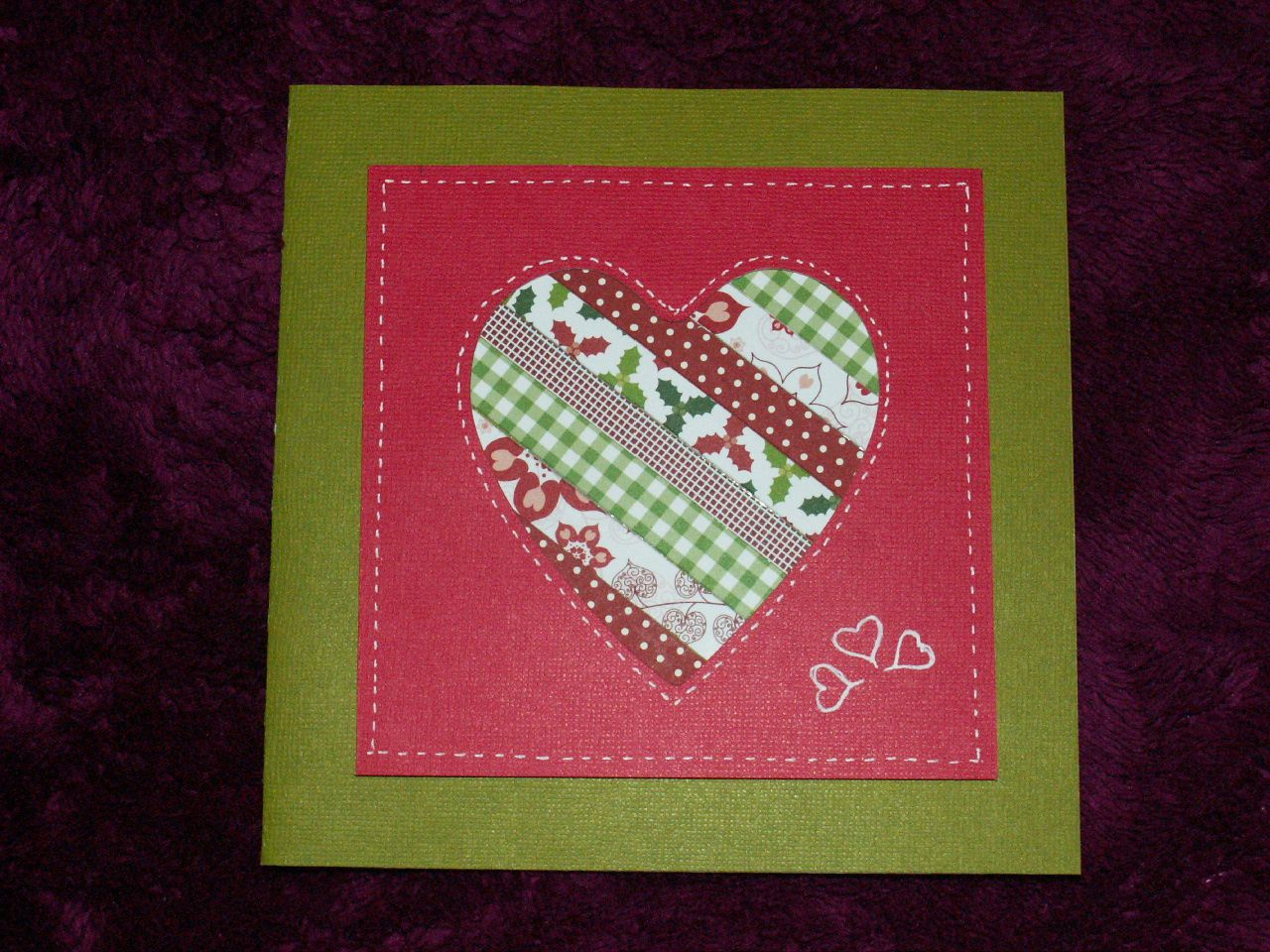 scrap  patchwork de rubans