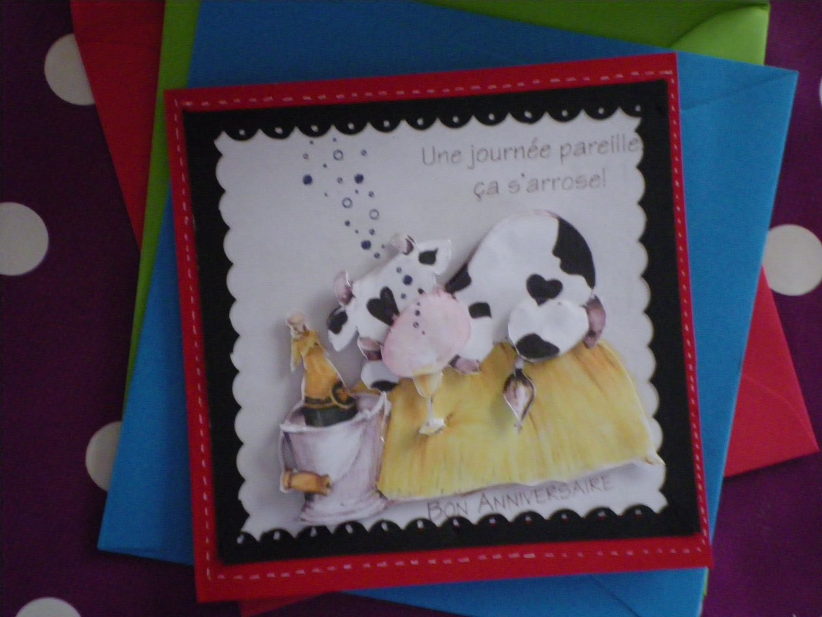 scrapbooking : cartes  images 3D