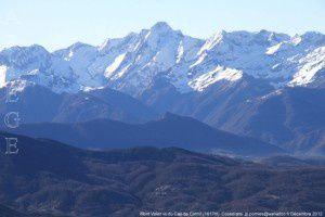 Mont Valier vu du Cap de Carmil (1617m)