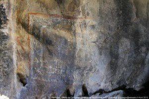 Peintures - Grotte del Campanal - Montréal-de-Sos