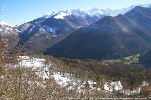 Vallée du Lez vue de Castet