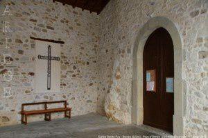 Eglise Sainte-Foy - Benaix (620m)
