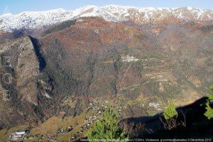 Vallée de Vicdessos vue du col de Risoul (1330m)
