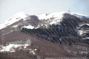 Cap de Bouirex vu du Cos (1013m)